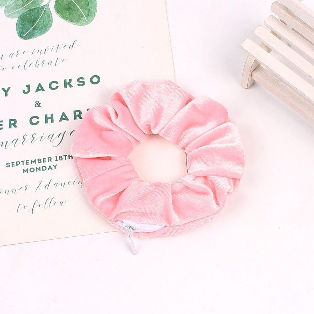 Scrunchie patsikumm roosa