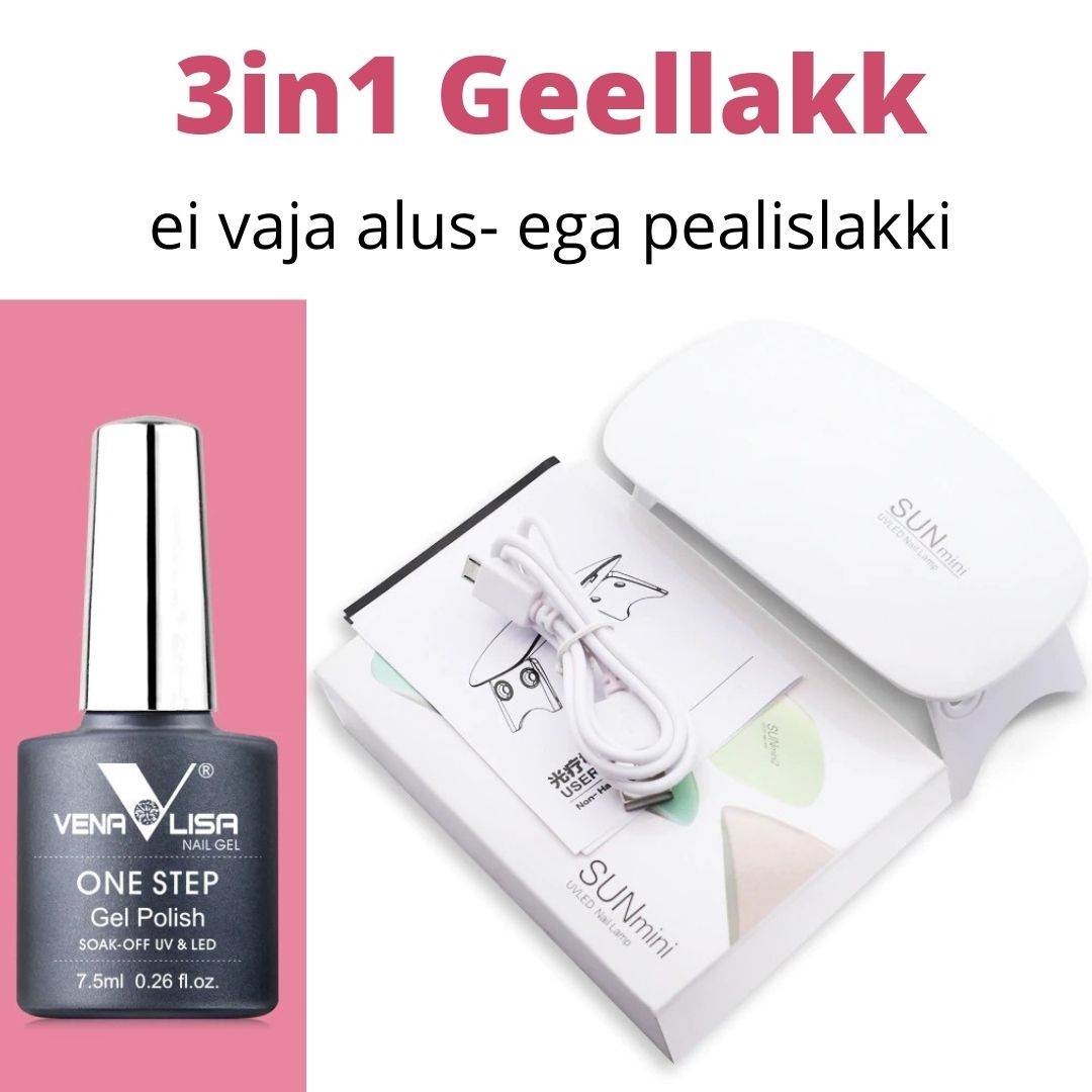 3in1 Geellakk